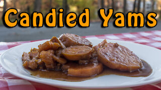 Dutch Oven Candied Yams