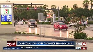 Cape Coral considering adding a noise ordinance