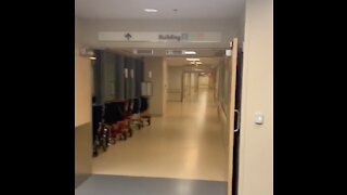 Are Hospitals Overwhelmed with COVID-19 Patients? Citizen Films Inside of Empty Sibley Hospital