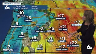 Rachel Garceau's Idaho News 6 forecast 5/7/21