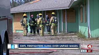 Greater Naples firefighters file lawsuit claiming unpaid overtime