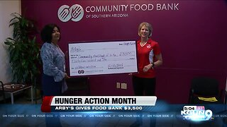 Arby's raising awareness about childhood hunger