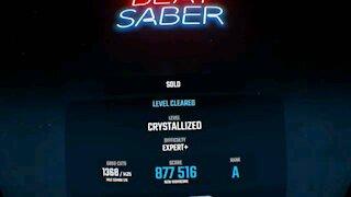 Beat saber - crystalized (Expert +)