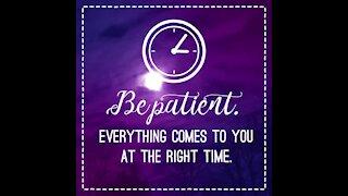 Be patient [GMG Originals]