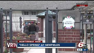 Hello Spring Event open at Newfields