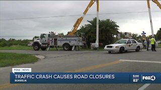 Traffic crash in Bokeelia causes road closures