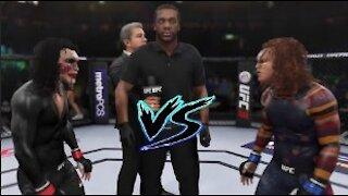 Chucky vs. Jigsaw I UFC EA Sports