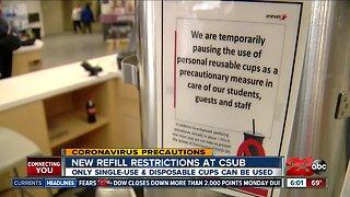 CSUB announces changes to food services amid coronavirus