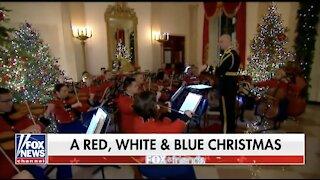 First Lady Melania Trump Gives Tour of White House Christmas Decor
