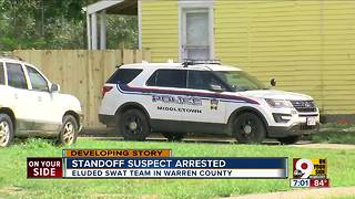 Standoff suspect arrested