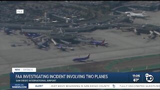 FAA investigating incident involving two planes ant San Diego International Airport