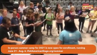 American Stage Summer camp enrollment | Morning blend