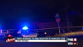 Man shot and killed after crashing into a power pole in Fort Myers.