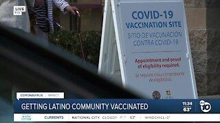 Getting Latino community vaccinated