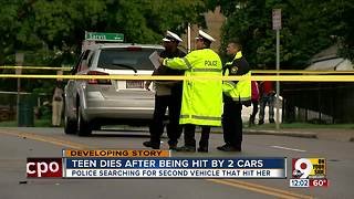 Police seek driver in hit-and-run that killed teen