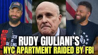Rudy Giuliani's NYC Apartment Raided By FBI