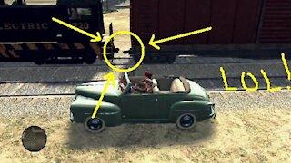 L.A. Noire - Strange glitch with a train #3