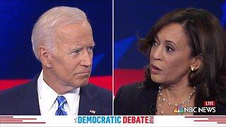 Sen. Kamala Harris challenges former Vice President Joe Biden