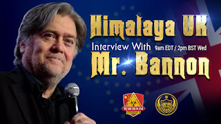 Weekly Interview with Mr. Bannon. 2nd June, 2021