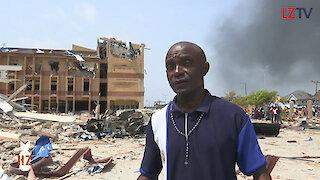 Massive explosion in Nigeria