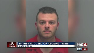 Father accused of abusing twins