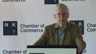 Mitch McConnell visits NKY to talk economic development