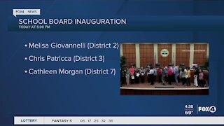 Lee County School Board Inauguration