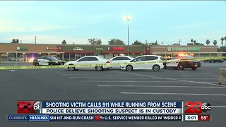 Shooting victim calls 911 while running from the scene