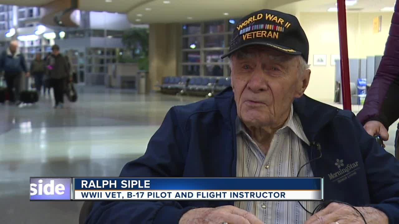 Boise WWII veteran Honor Flight