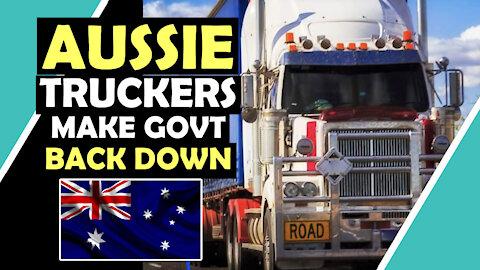 AUSSIE TRUCKERS MAKE Govt BACK DOWN #PeoplePower #Australia / Hugo Talks #lockdown