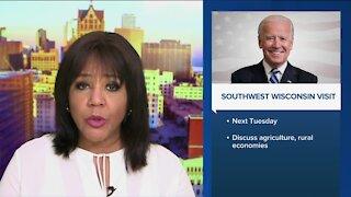 President Biden to travel to Wisconsin next week