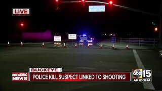 Suspect killed in officer-involved shooting in west Valley