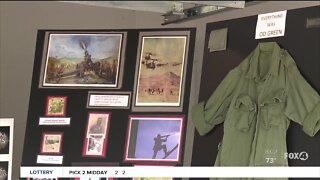 Local Veteran creates display for Memorial Day