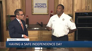 Celebrating the Fourth of July safely - Cookouts
