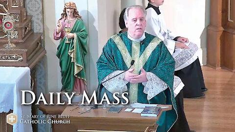 Fr. Richard Heilman's Sermon for Tuesday Oct. 12, 2021