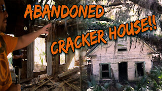 Abandoned Cracker House and Civil War Cemetery!!