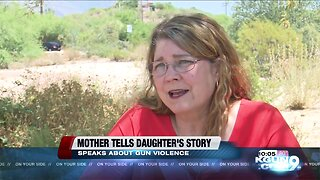 Mother spreads awareness about gun violence in light of daughter's death