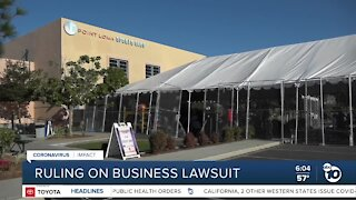 Judge to rule on suit that could allow county businesses to reopen indoors