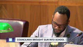 Buffalo Common Council Member Ulysees Wingo investigated for bringing gun into Buffalo school