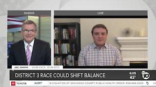 Political analyst Stephen Goggin on District 3 race