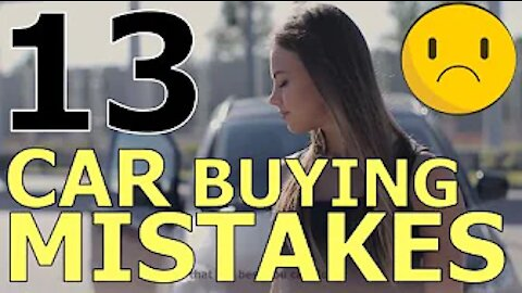 13 CAR BUYING MISTAKES: HOW CAR BUYERS LET CAR DEALERS RIP THEM OFF! The Homework Guy, Kevin Hunter