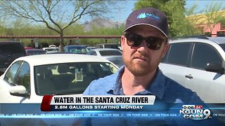 Water to be added in the Santa Cruz River by Downtown