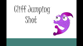 Cliff Jumping Shot