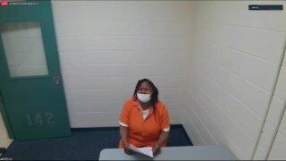 Monica Walker appears in court