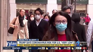 CDC: Coronavirus masks not recommended for healthy people