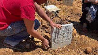 SOUTH AFRICA - Cape Town - Mowbray Muslim Cemetery desecration (Video) (BVa)