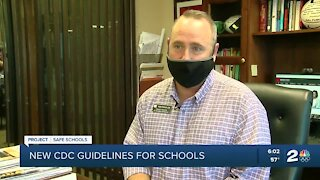 Green Country schools react to new CDC guidelines