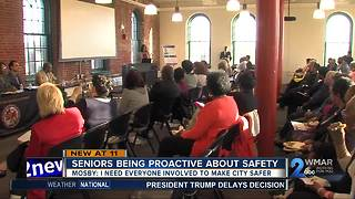 Senior citizens being proactive about their safety