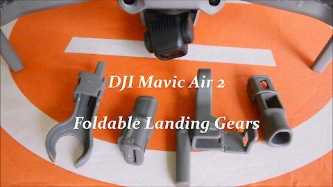 Mavic Air 2 Foldable Heightening Landing Gears