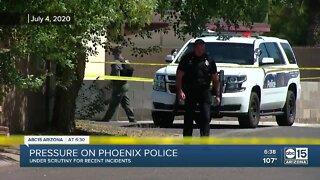 Pressure on Phoenix Police Department